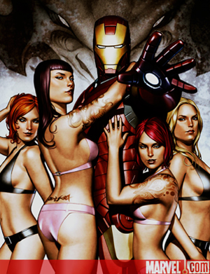 iron man girls in lingerie bikini
